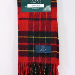 Clans Scotland Brodie Red